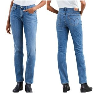 Women's Levi's 505 Slim Straight Denim Jeans